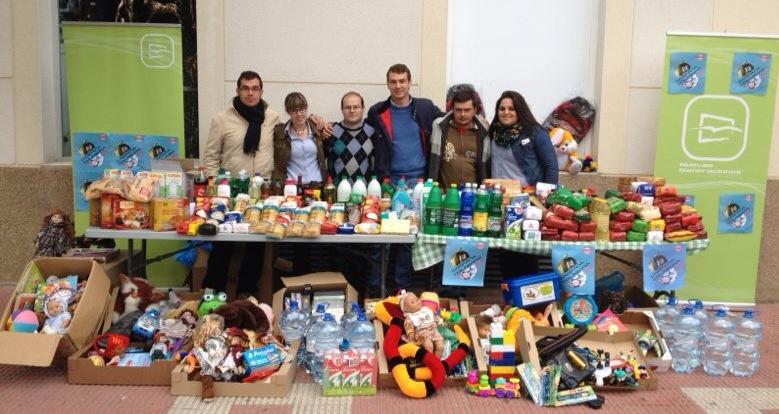 Las donaciones a Cáritas se incrementaron las pasadas Navidades