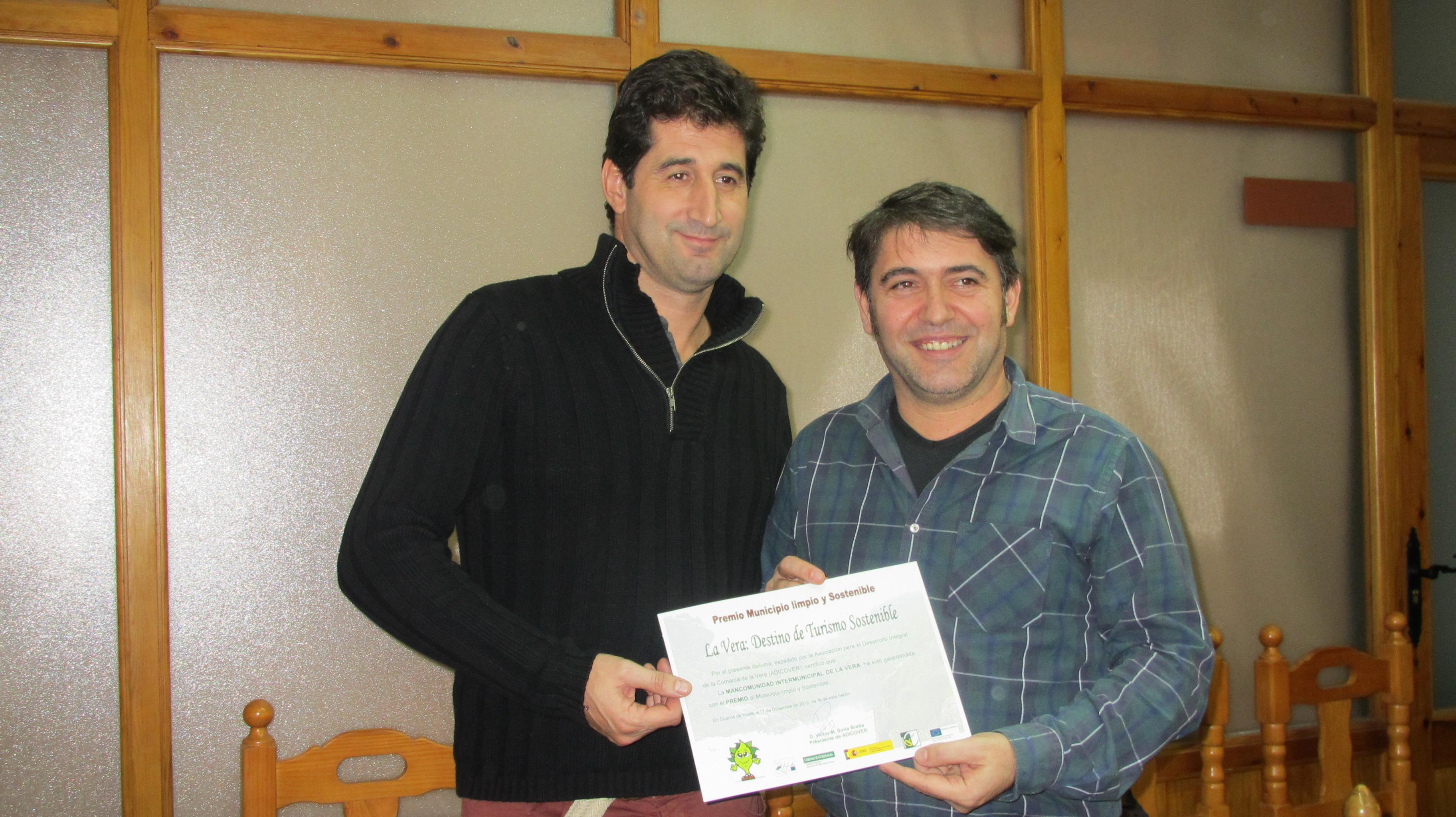 La Mancomunidad de la Vera distinguida con el premio 'Municipio limpio y sostenible'